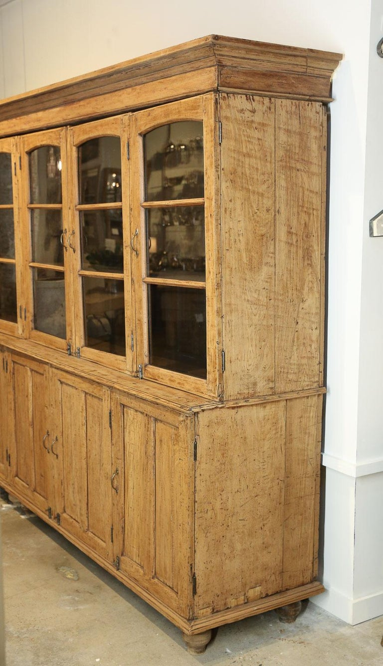 French 19th Century Oak Pharmacy Cabinet For Sale at 1stdibs
