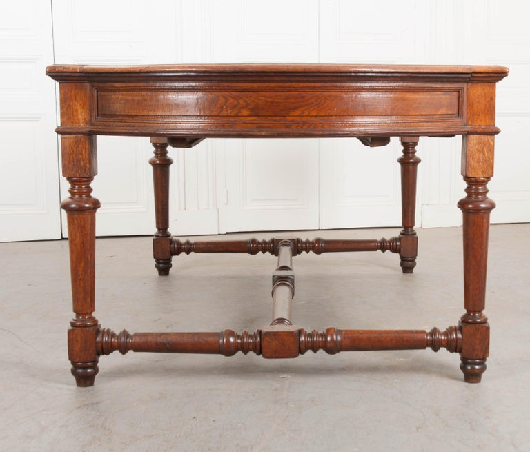 French 19th Century Oak Sewing Table For Sale 13