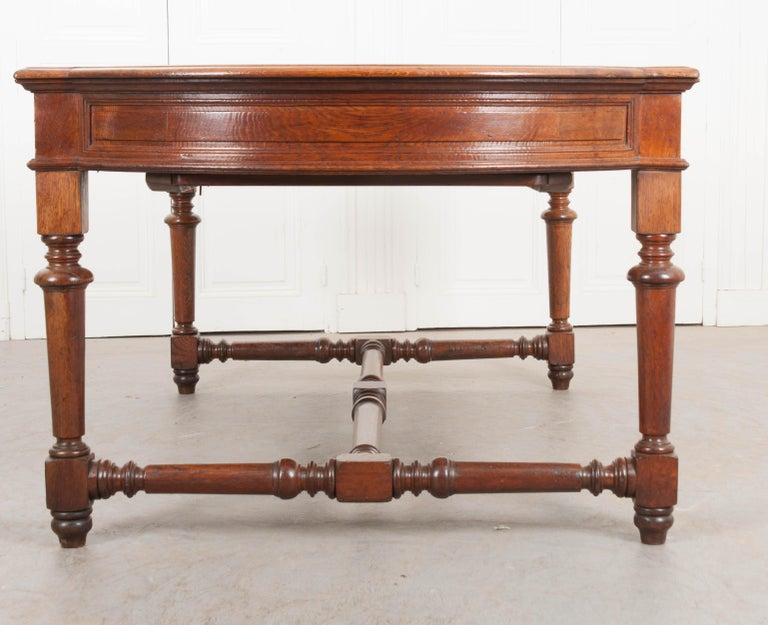 French 19th Century Oak Sewing Table For Sale 14