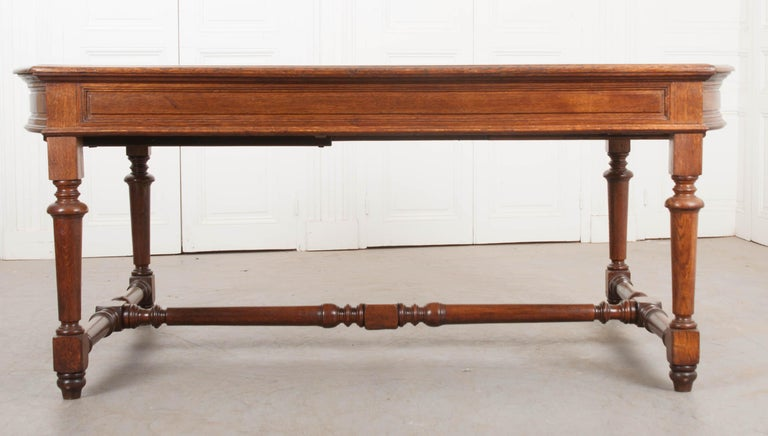 French 19th Century Oak Sewing Table For Sale 15
