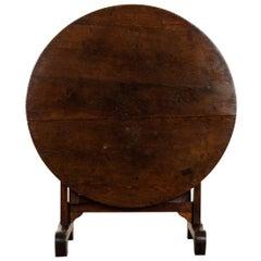 French 19th Century Oak Vendange Table