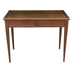 French 19th Century Oak Writing Desk