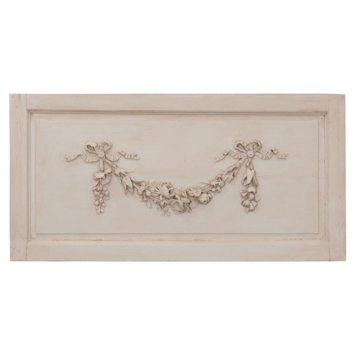 French 19th Century Painted Boiserie Panel