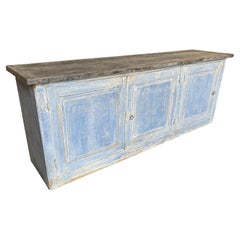 French 19th Century Painted Buffet