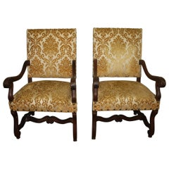 French 19th Century Pair of Armchairs