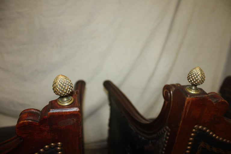 French 19th Century Pair of Bergère Chairs For Sale 5