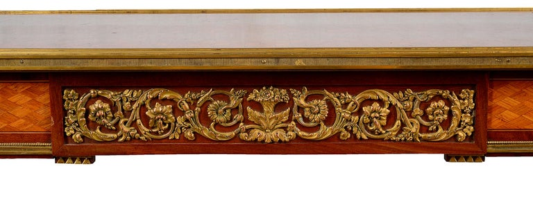 Inlay French 19th Century Parquetry Inlaid Table, in the Style of Linke For Sale