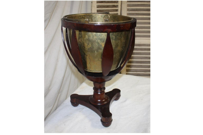 Copper French 19th Century Planter For Sale