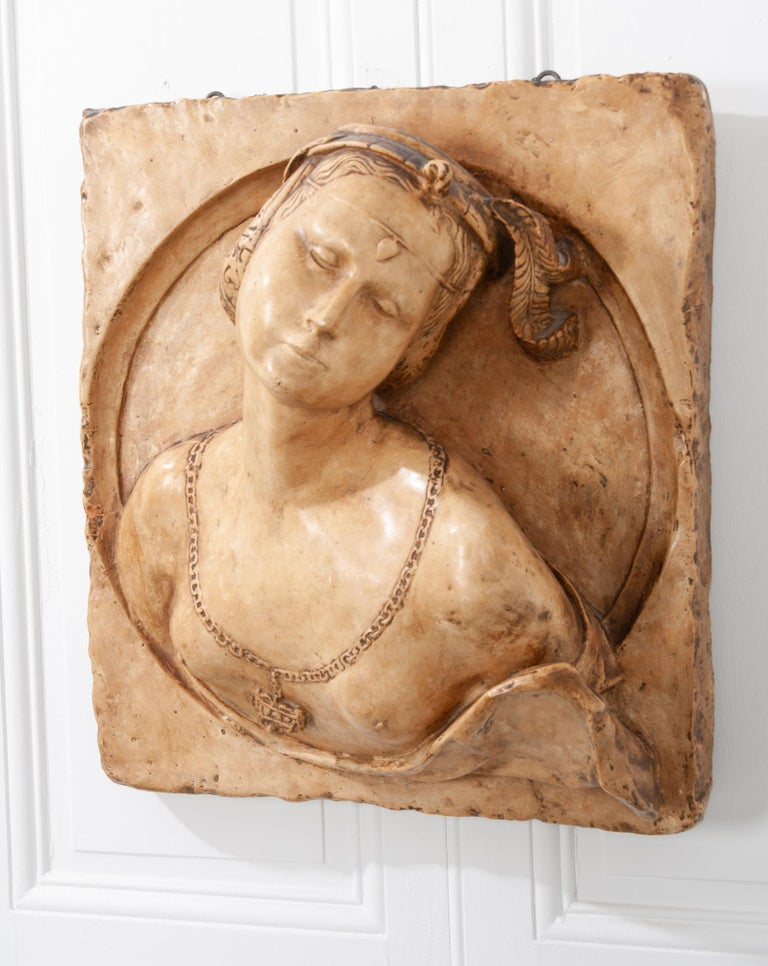 French 19th Century Plaster Copy of Lady from the Louvre For Sale 6