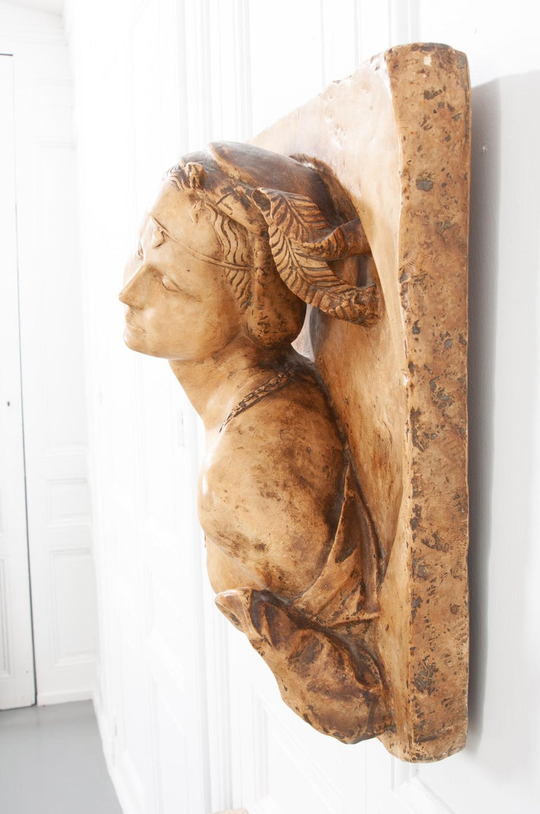 Other French 19th Century Plaster Copy of Lady from the Louvre For Sale