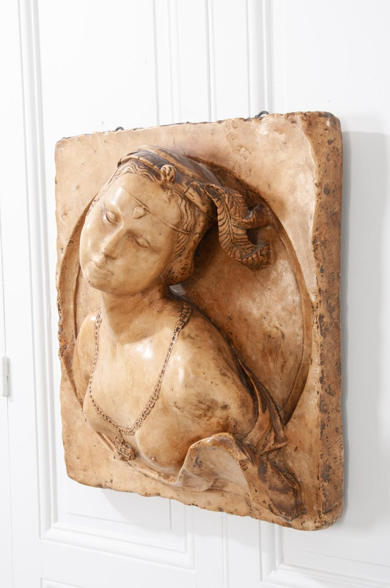 French 19th Century Plaster Copy of Lady from the Louvre For Sale 1