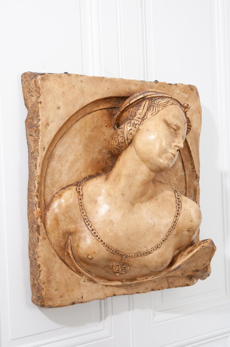 French 19th Century Plaster Copy of Lady from the Louvre For Sale 4