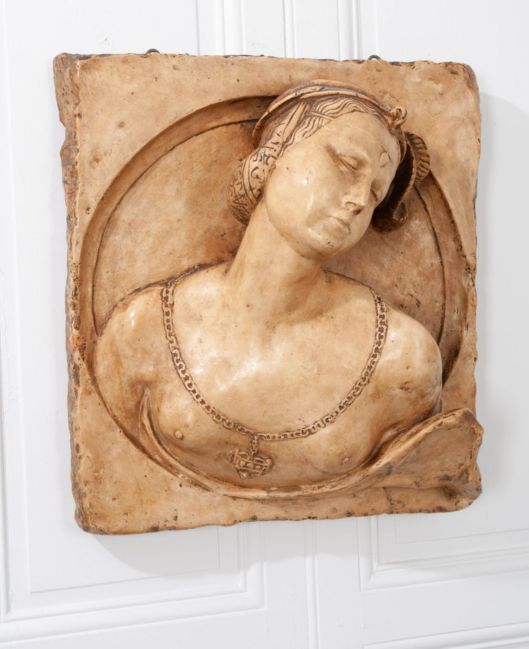 French 19th Century Plaster Copy of Lady from the Louvre For Sale 5