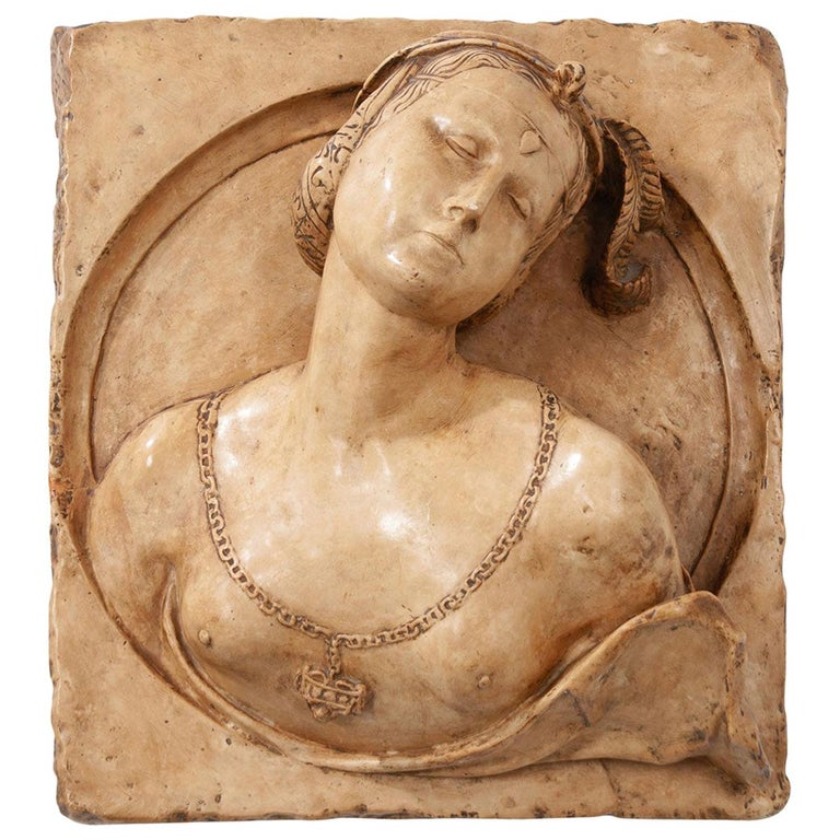 French 19th Century Plaster Copy of Lady from the Louvre For Sale