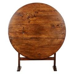 French 19th Century Poplar Vendange Table