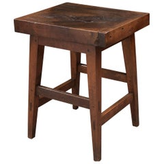 French 19th Century Primitive Low Table
