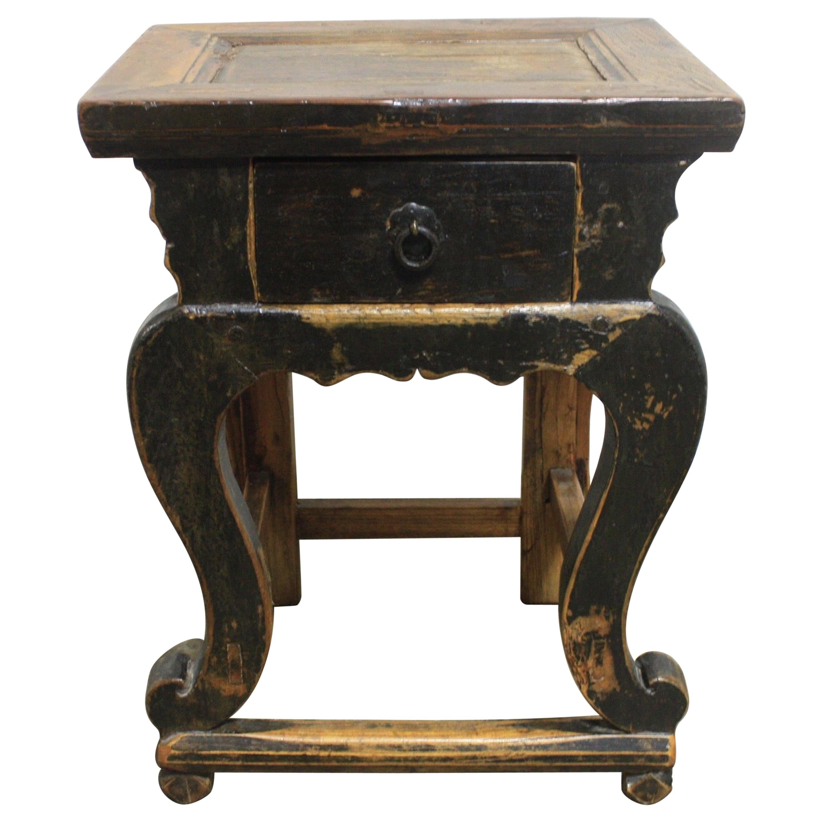 French 19th Century Primitive Side Table