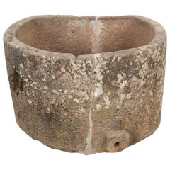 French 19th Century Provincial Stone Watering Trough