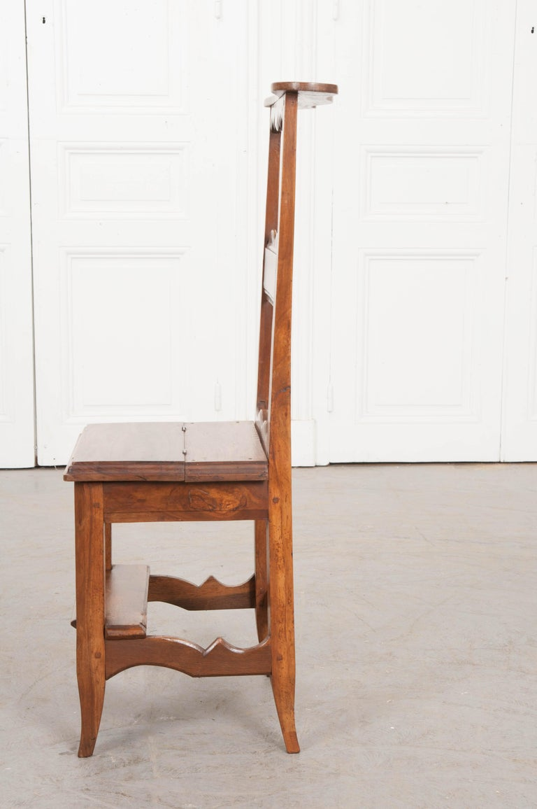 This sweet walnut prie-dieu, circa 1880s, is from the Provincial countryside of France and can be used for a lifetime. Just lift the hinged seat to allow your little one to say their goodnight prayers on the kneeler and when they've grown they can