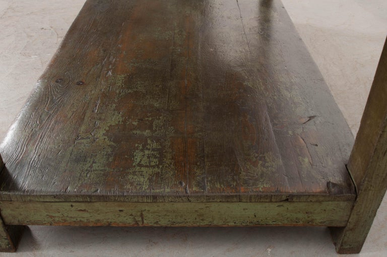 French 19th Century Provincial Walnut Work Table For Sale 6
