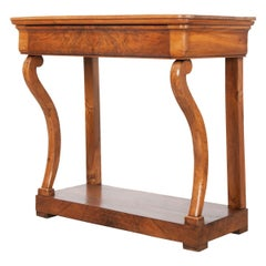 French 19th Century Restauration Console