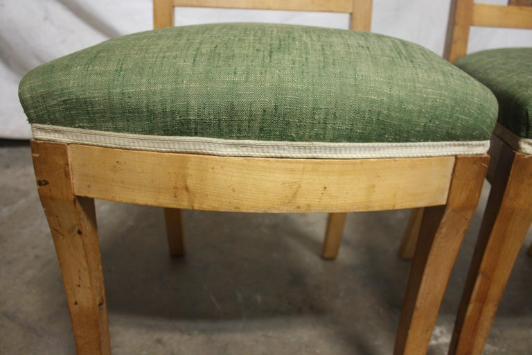 French 19th Century Restauration Dining Room Chairs For Sale 6