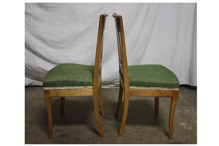 French 19th Century Restauration Dining Room Chairs For Sale 2