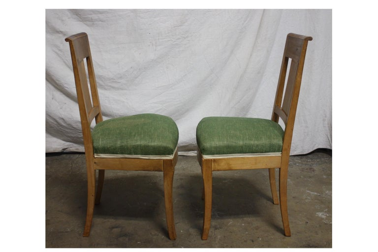 French 19th Century Restauration Dining Room Chairs For Sale 3