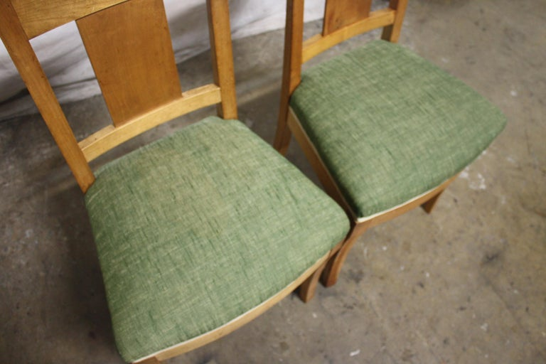 French 19th Century Restauration Dining Room Chairs For Sale 5