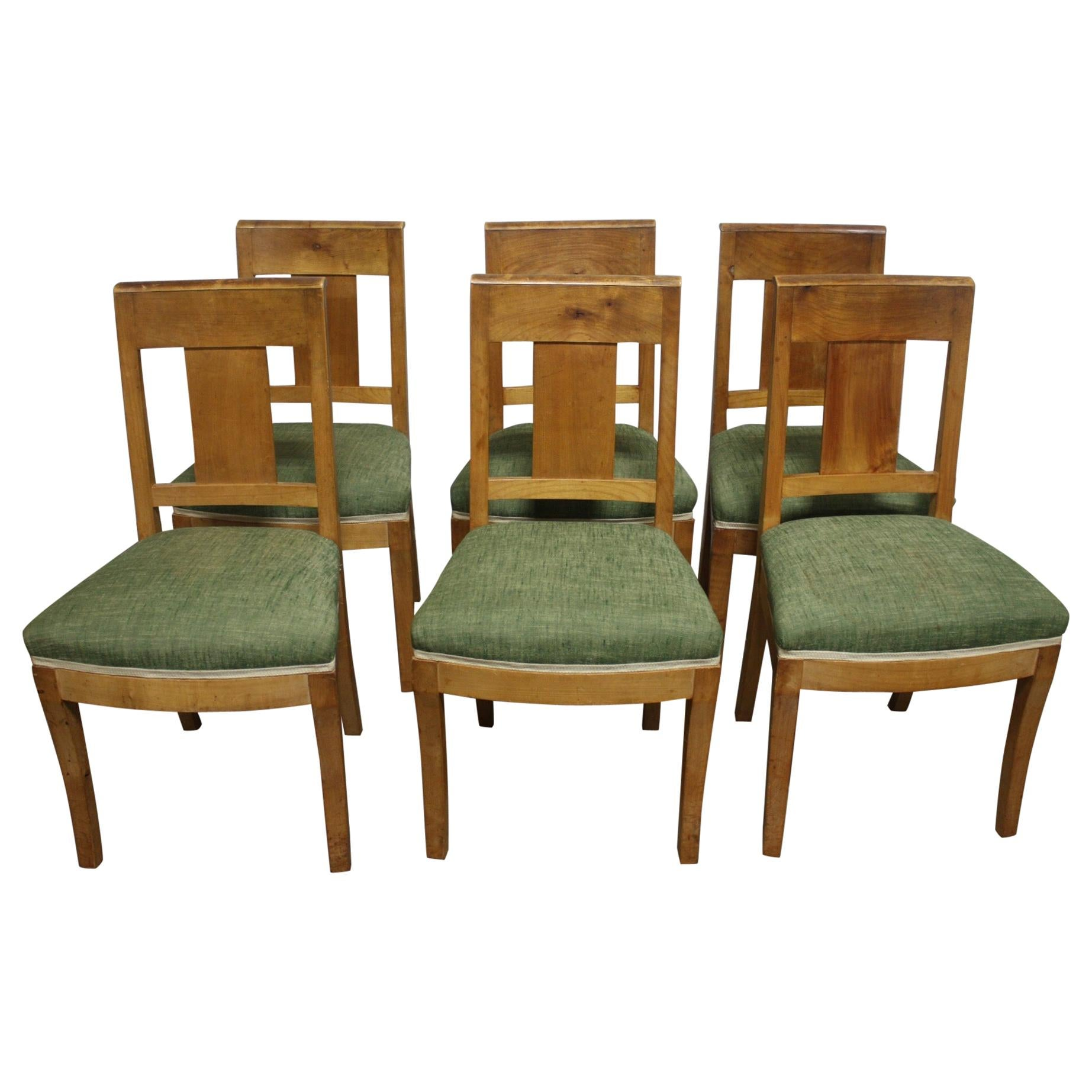 French 19th Century Restauration Dining Room Chairs
