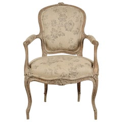 French 19th Century Rococo Style Armchair