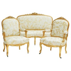 French 19th Century Rococo Style Furniture Set