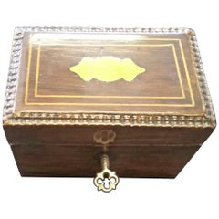 French 19th Century Rosewood Bank Box