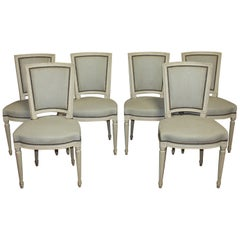 French 19th Century Set of Dining Chairs