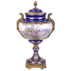 French 19th Century Sevres style vase.