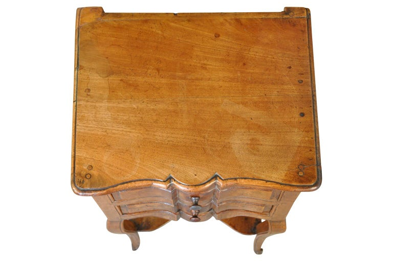 Walnut French 19th Century Side Table For Sale