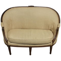 French 19th Century Sofa, Louis XVI