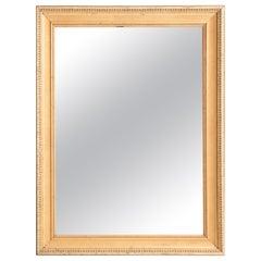 French 19th Century Symmetrical Giltwood Mirror