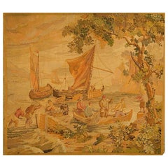 French 19th Century Tapestry, circa 1890  7'3 x 6'6