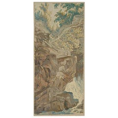French 19th Century Tapestry Panel, circa 1850, 3'3 x 7'2