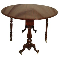 French 19th Century Tilt-Top Table