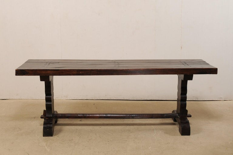 French 19th Century Trestle Table For Sale 6
