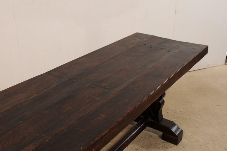 French 19th Century Trestle Table For Sale 1