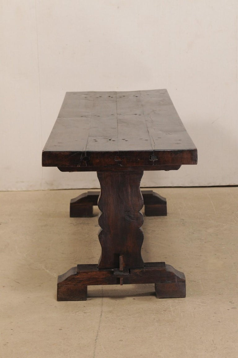French 19th Century Trestle Table For Sale 2