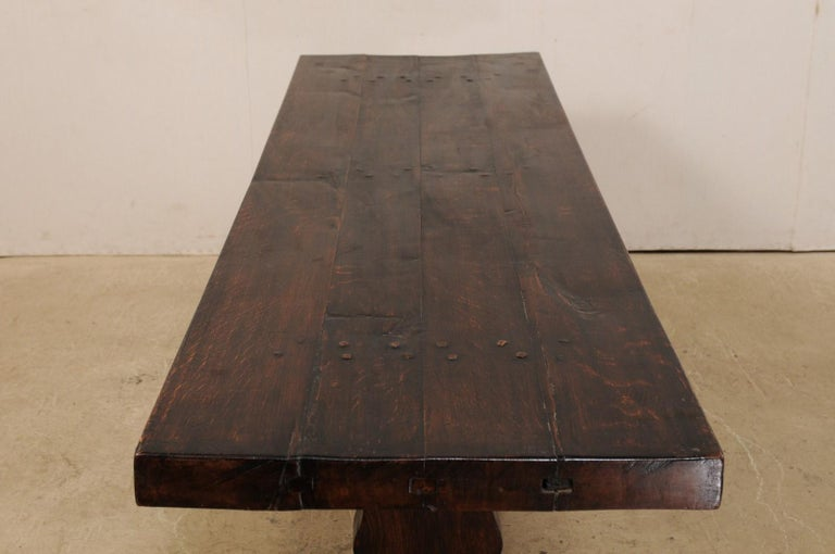 French 19th Century Trestle Table For Sale 3