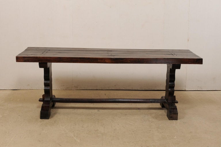 French 19th Century Trestle Table For Sale 4