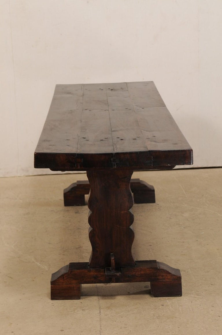French 19th Century Trestle Table For Sale 5