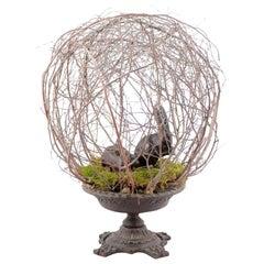 Natural Fiber Sculptures