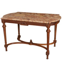 French 19th Century Walnut Louis XVI Centre Table