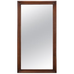 French 19th Century Walnut Mirror